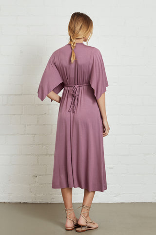Mid-Length Caftan Dress - Orchid, Maternity