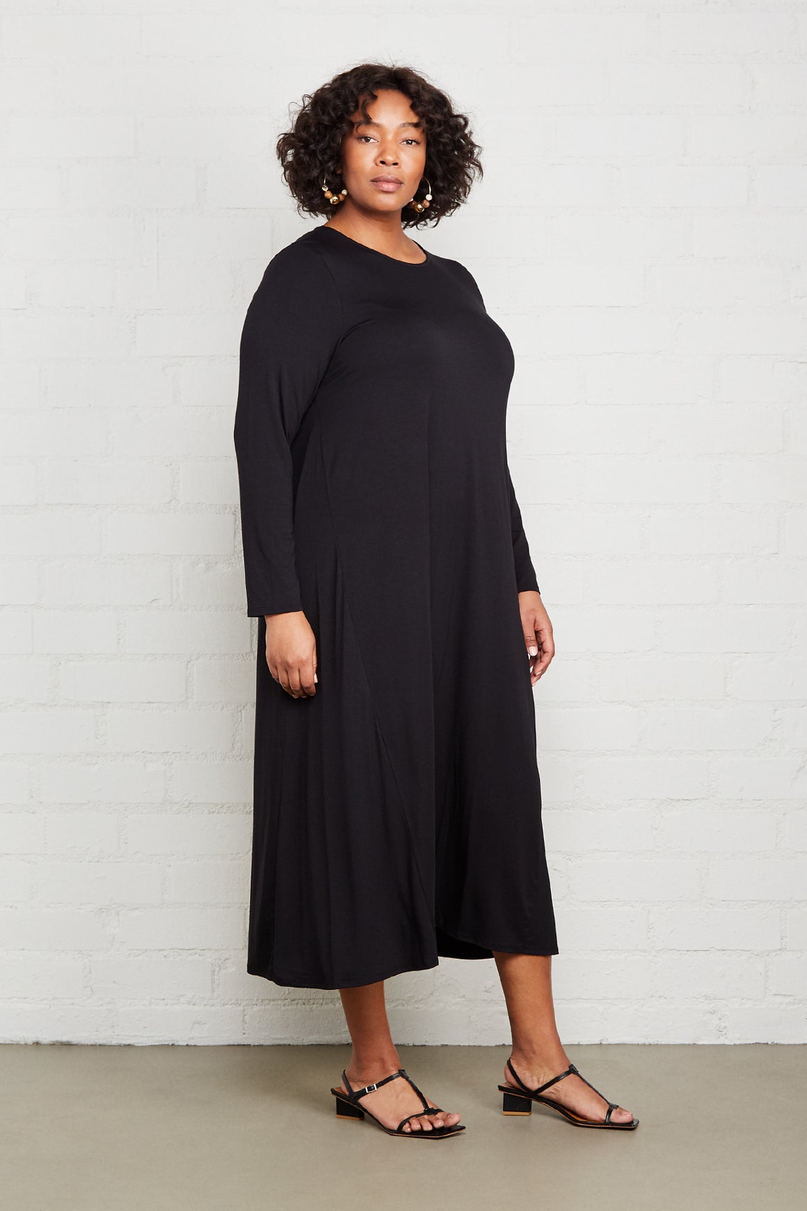 Mid-Length Stormy Dress - Plus Size