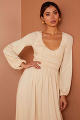 Mallory Dress - Cream