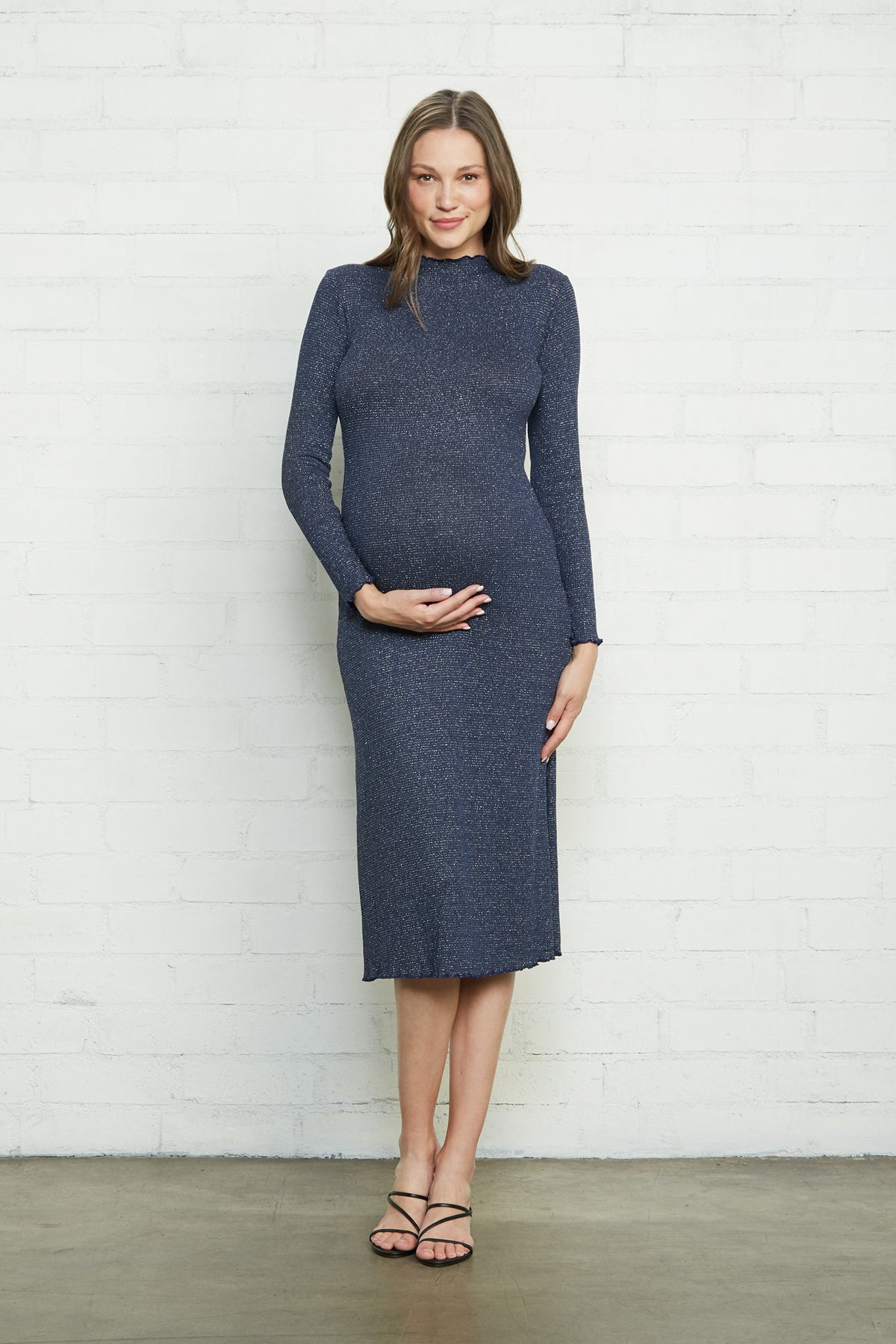 Mara Dress - Azulon Silver, Maternity
