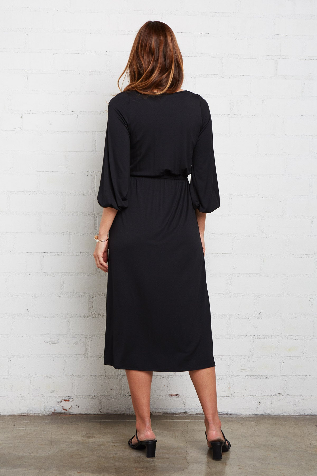 Margo Dress - Black, Maternity
