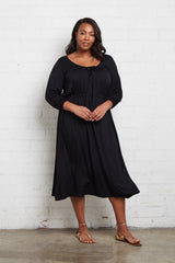 Margo Dress - Black, Plus Size