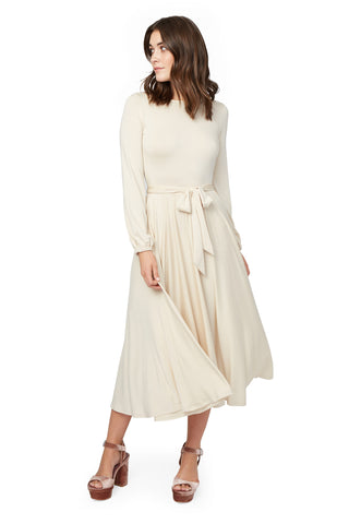 Reversible Marston Dress - Cream