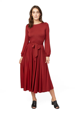 Reversible Marston Dress - Nebbiolo