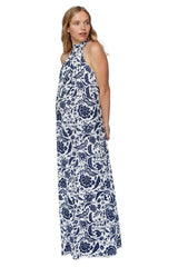 Rayon Martine Dress- Painted Floral, Maternity