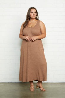 Metallic Rib Fiona Dress - Plus Size