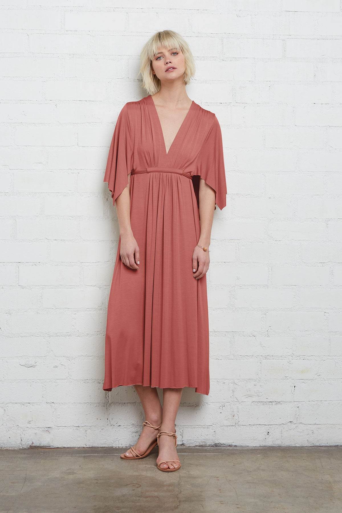 Mid-Length Caftan Dress - Cosmos