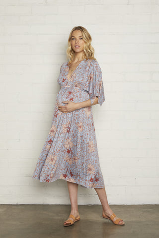 Mid-Length Caftan Dress - Prairie, Maternity