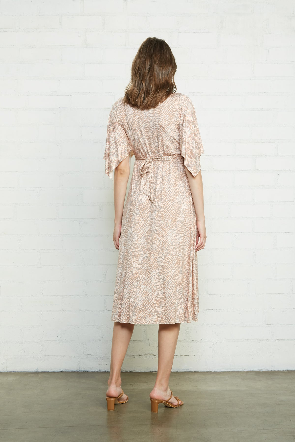 Mid-Length Caftan Dress - Snake, Maternity