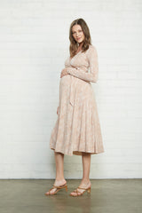 Mid-Length Harlow Dress - Snake, Maternity