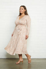 Mid-Length Harlow Dress - Snake, Plus Size