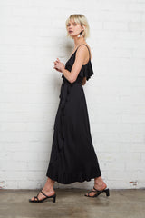 Mid-Length Lita Dress - Black