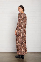 Stormy Dress - Leopard