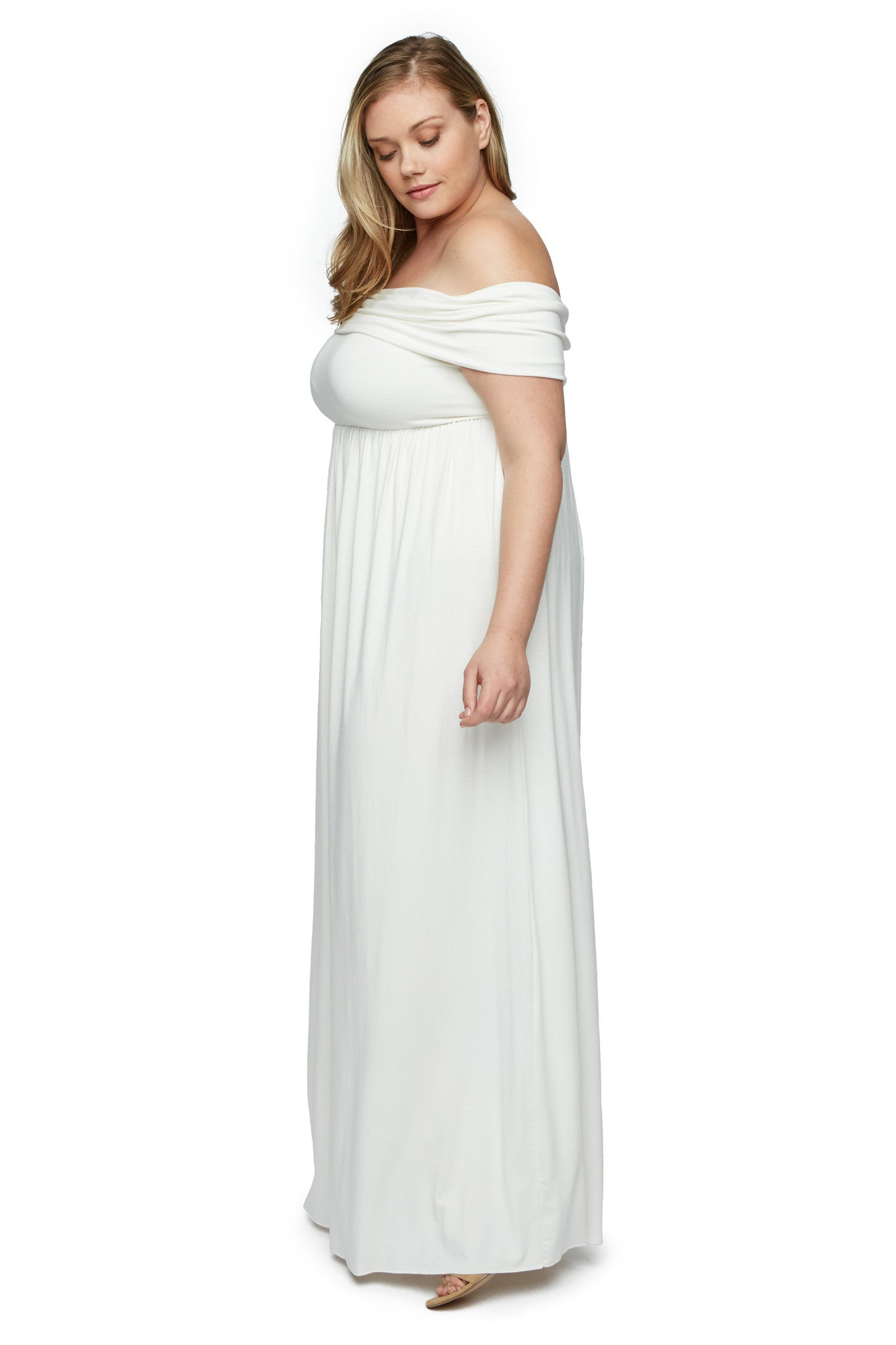 Midsummer Dress WL - White