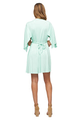 Mini Caftan Dress - Menthe