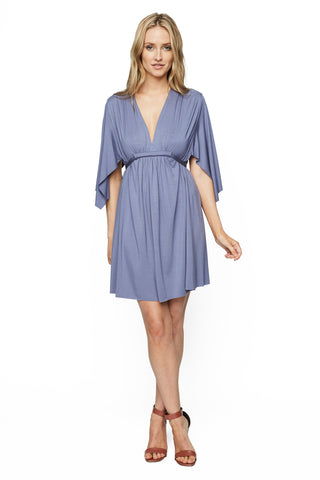 Mini Caftan Dress - Nimbus