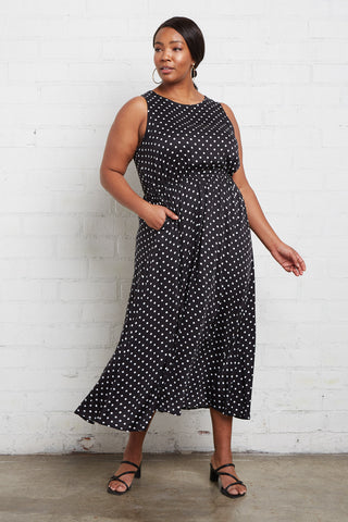 Mirabelle Dress - Dot, Plus Size