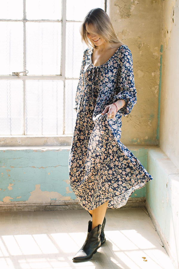 Pucker Rayon Kaylin Dress