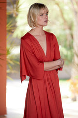 Long Caftan Dress - Poppy, Maternity
