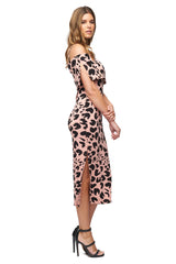 Pascal Dress Print - Jaguar