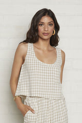 Pocket Tank - Gingham