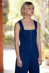 Canvas Kai Jumpsuit - Riviera