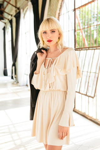 Buffy Dress - Cream