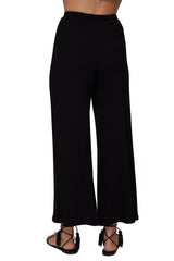 Rib Lowen Pant - Black
