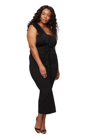 Jacqueline Dress - Black, Plus Size