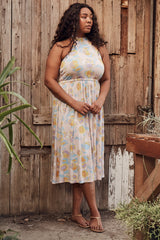 Beth Dress - Garden, Plus Size