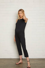 Rain Jumpsuit - Black, Maternity