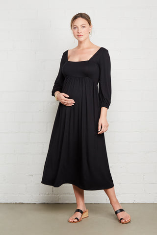 Raphaela Dress - Black, Maternity