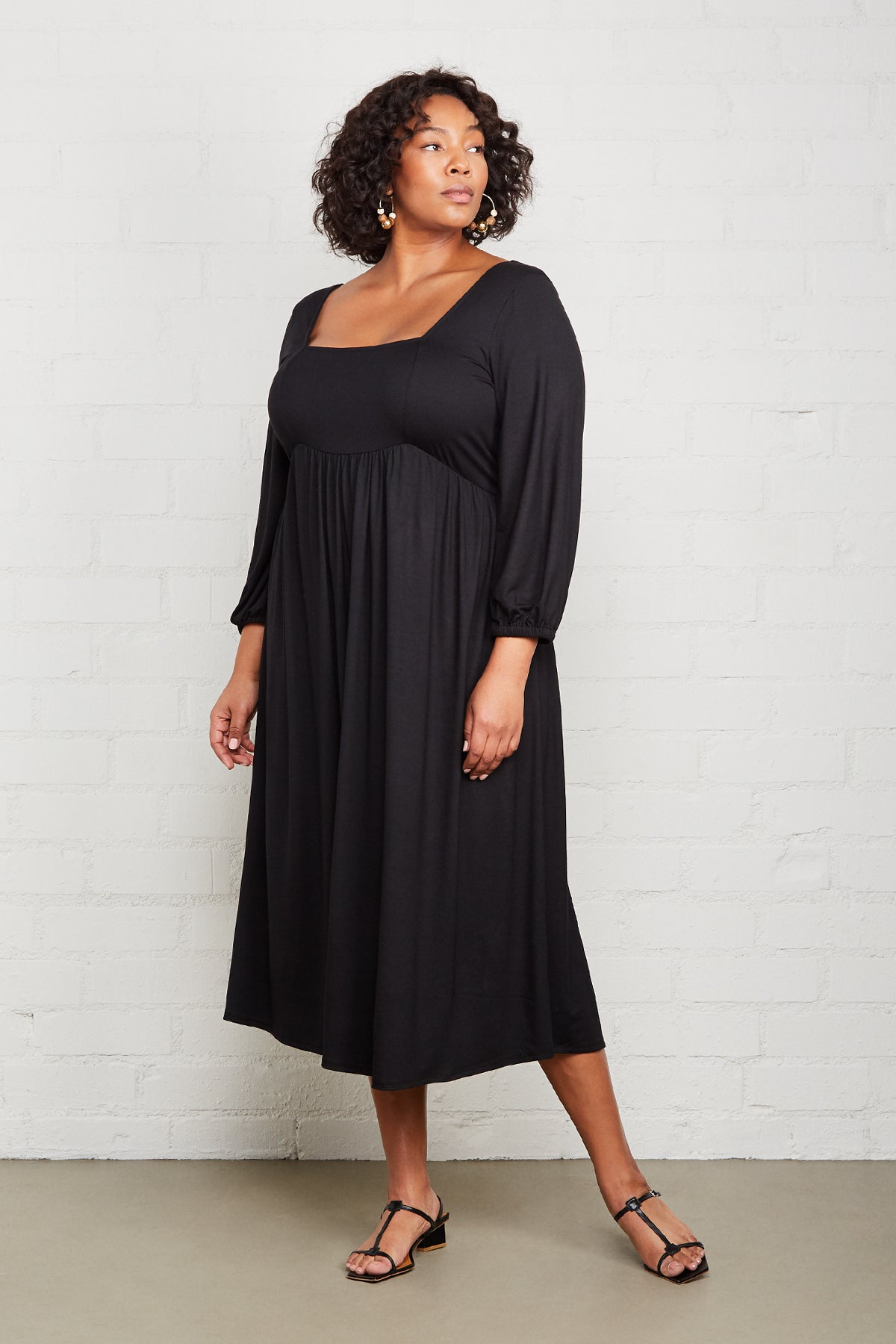 Raphaela Dress - Black, Plus Size