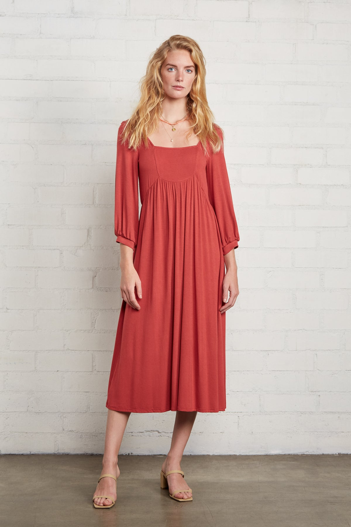 Raphaela Dress - Mineral