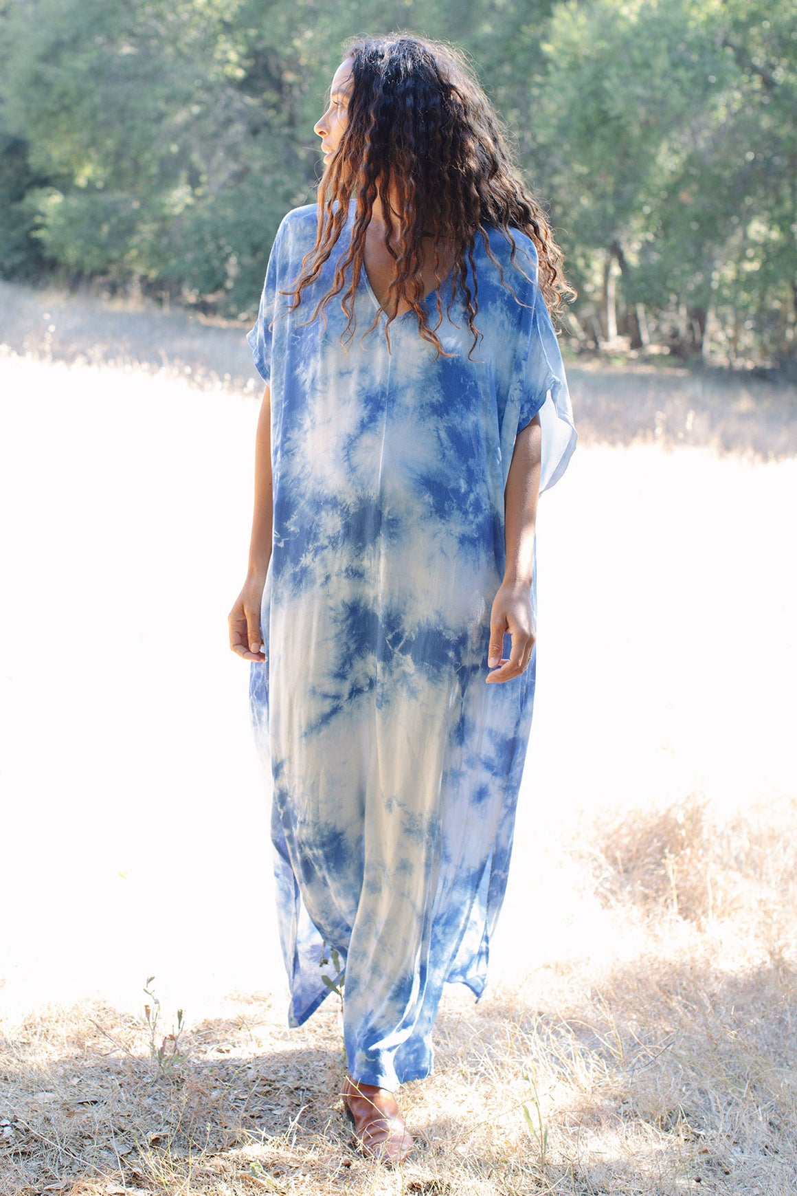 Rayon Tie-Dye Rae Dress - Maternity