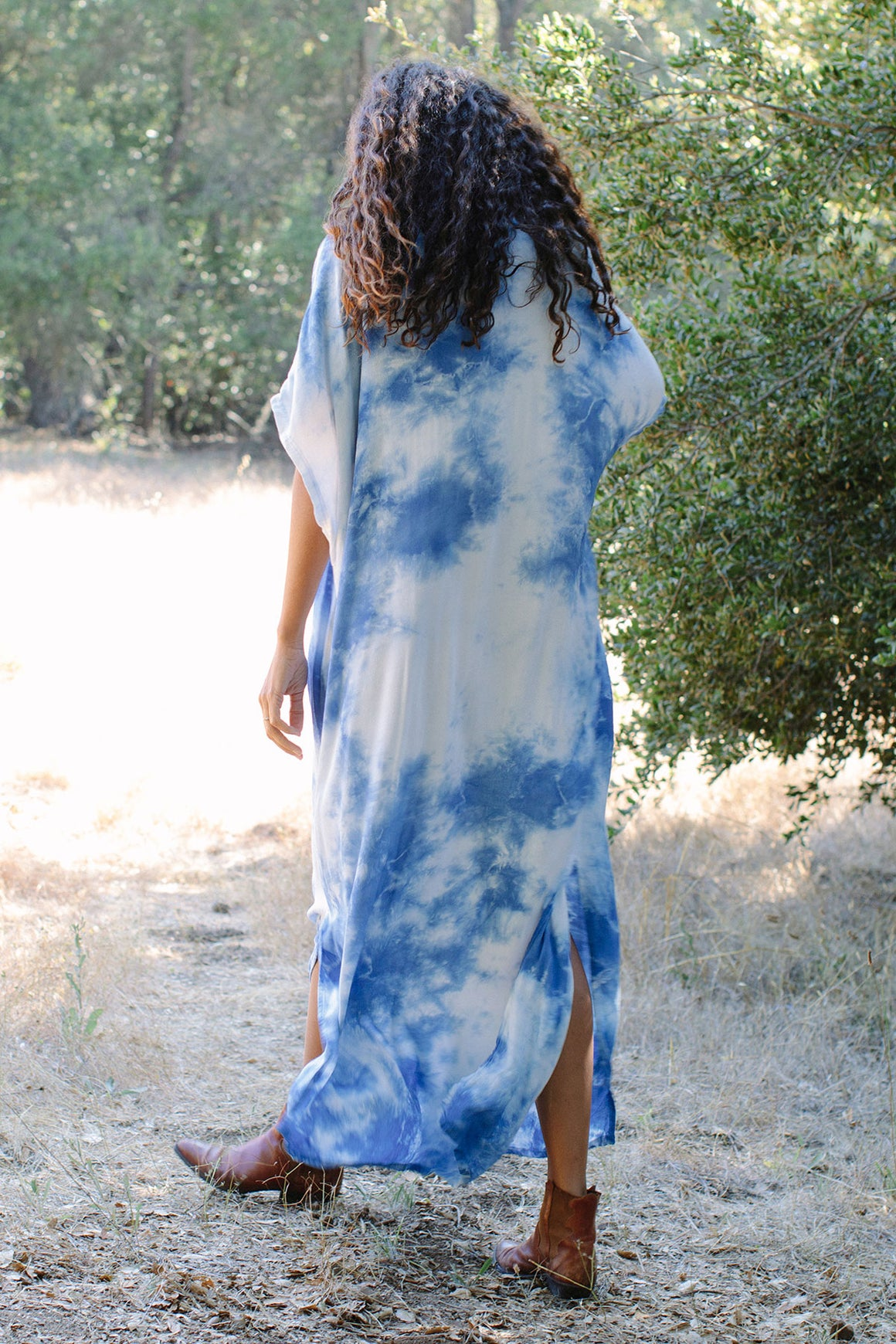 Rayon Tie-Dye Rae Dress - Plus Size