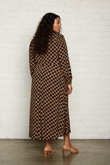 Rayon Zola Dress - Dot, Plus Size