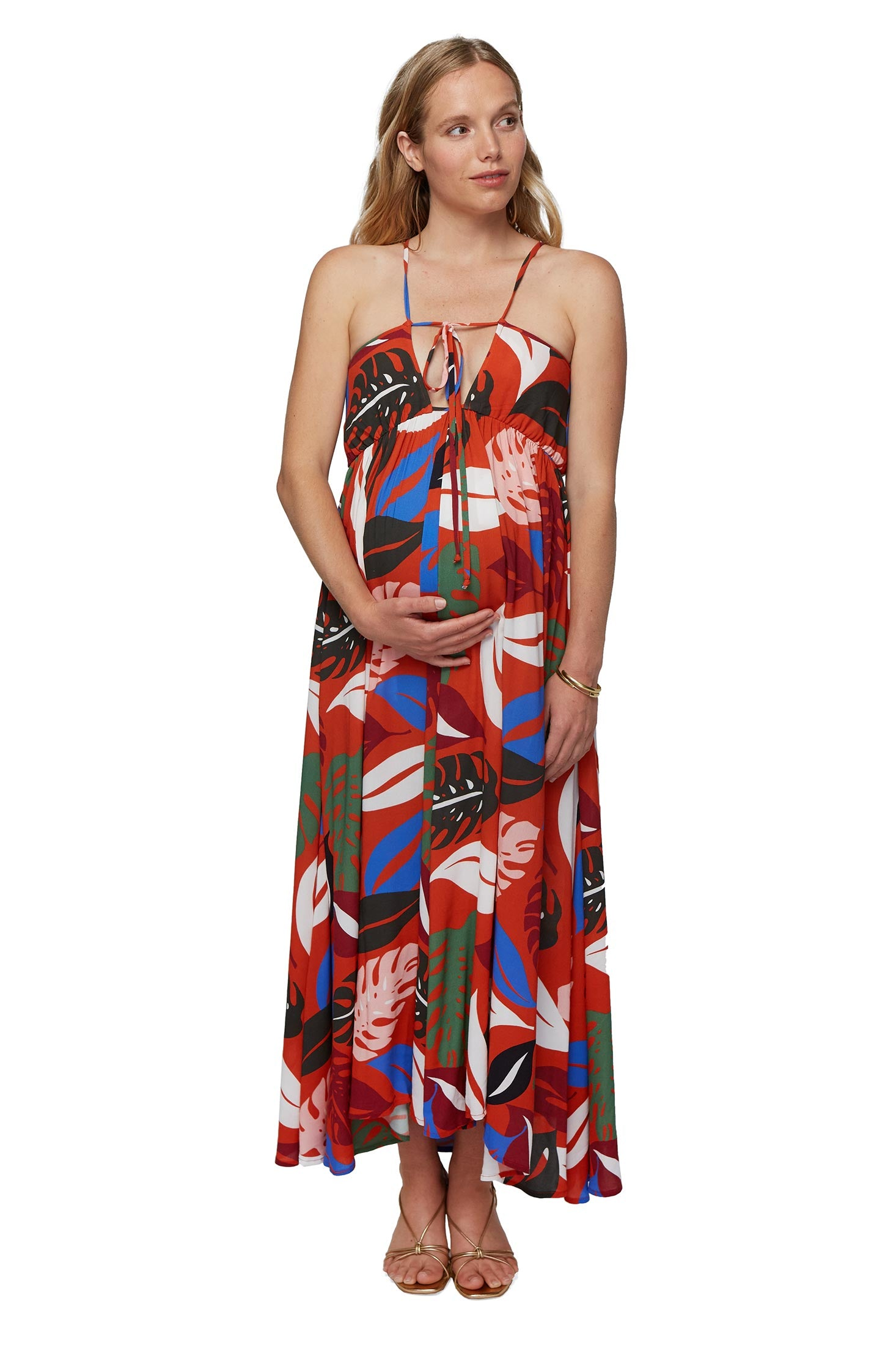 Reversible Crepe Eli Dress - Maternity