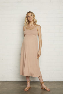 Rib Bellatrix Dress - Maternity