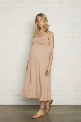 42dd2e20e34ae Rib Bellatrix Dress - Maple Sugar, Maternity ...