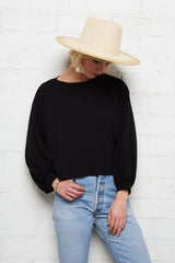 The Rib Finley Top - Black