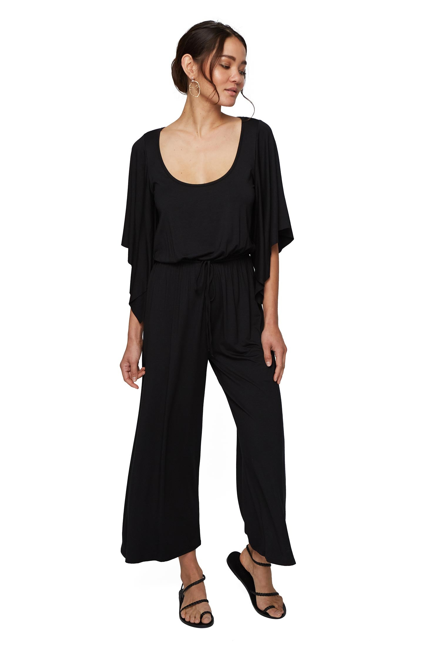 Roland Jumpsuit - Black