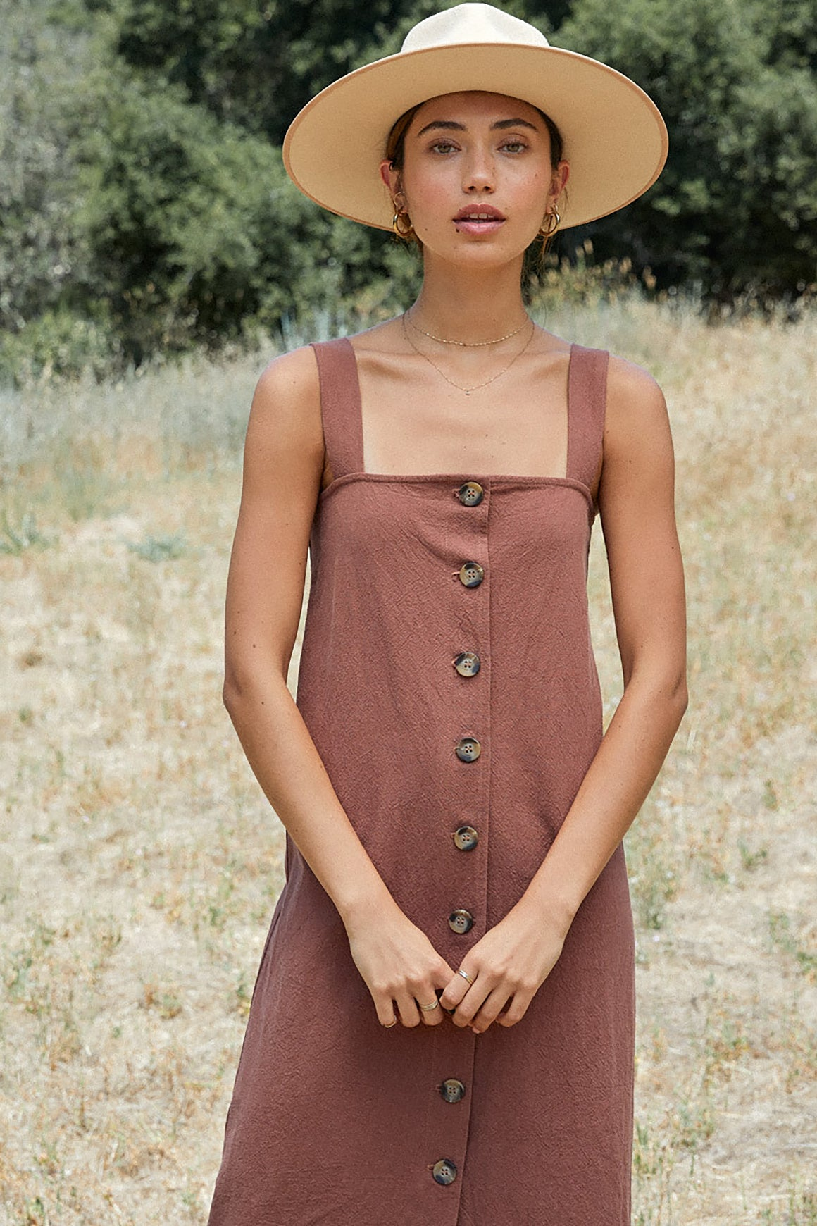 Linen Canvas Rome Dress