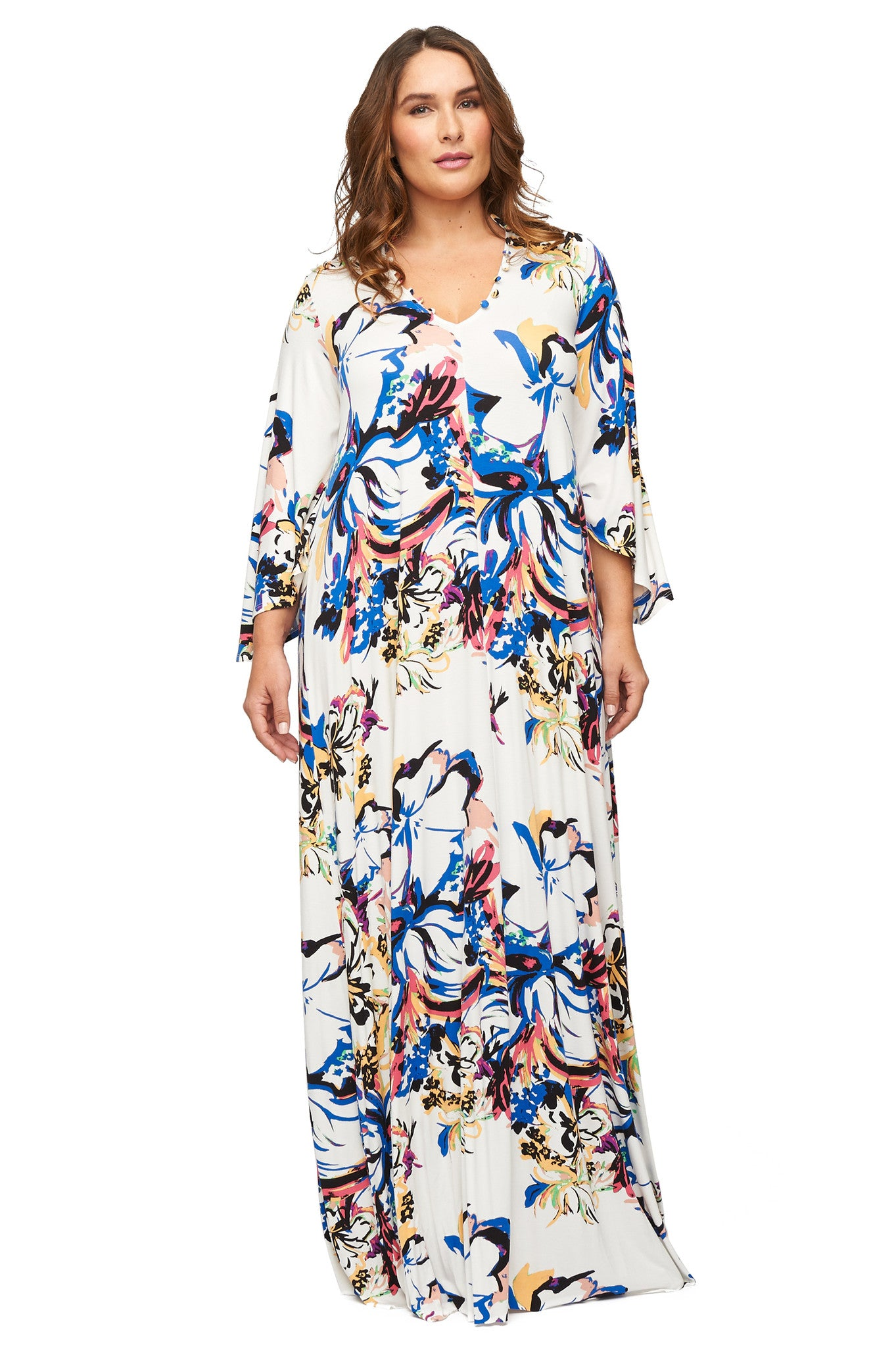 Rosaleen Dress WL Print - Botanical
