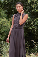 Rowena Dress - Cocoa