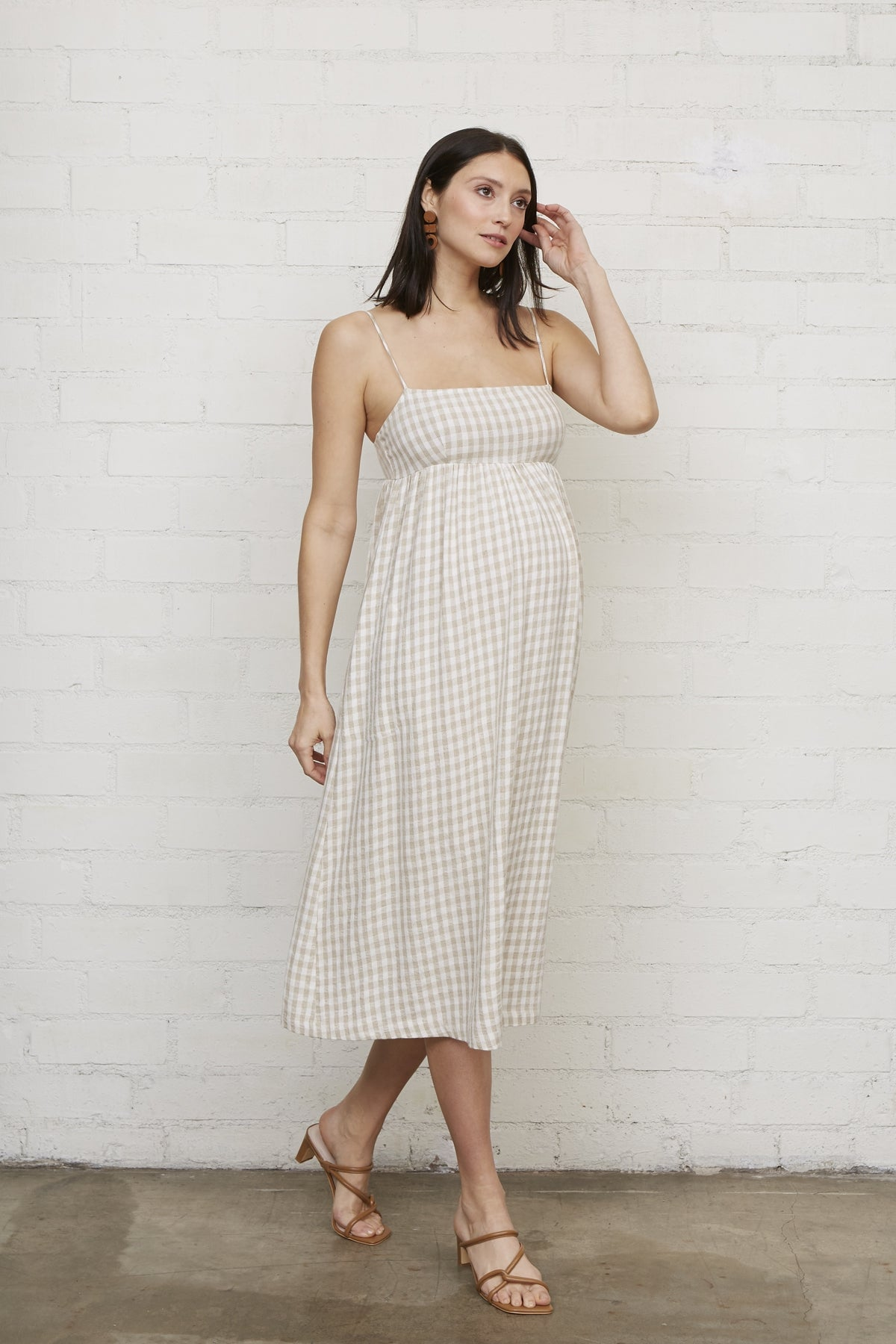 Ruth Dress - Gingham, Maternity
