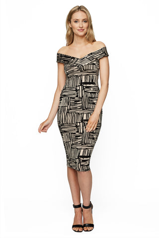Sammie Dress Print - Etch