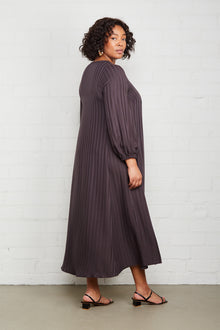 Shadow Stripe Manon Dress - Plus Size