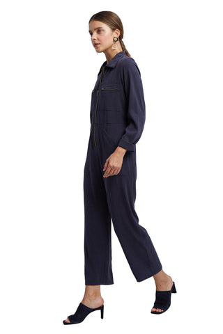 Shelby Jumpsuit - Indigo Twill