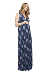 Long Sleeveless Caftan Print - Java